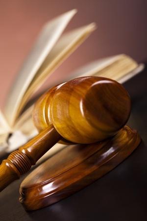 פטיש של שופט מהזווית