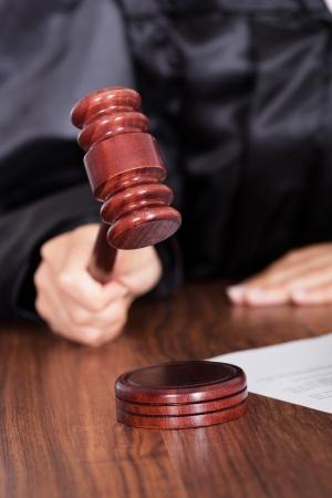 הקשה בפטיש שופט