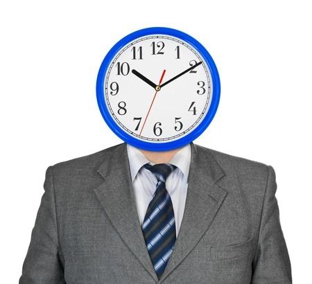 איש עם ראש שעון