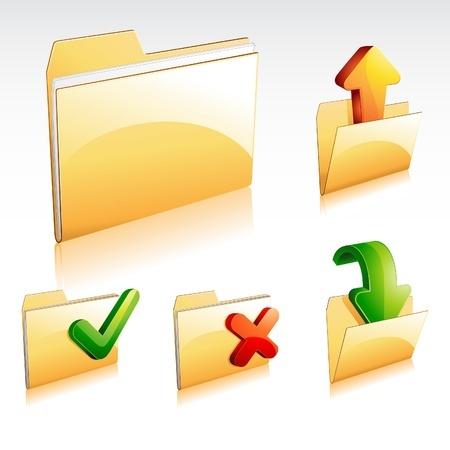 תקיית מסמכים מאב רציות שונות - כניסה, יציאה איקס וי