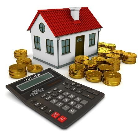 בית, מחשבון וערמות של מטבעות